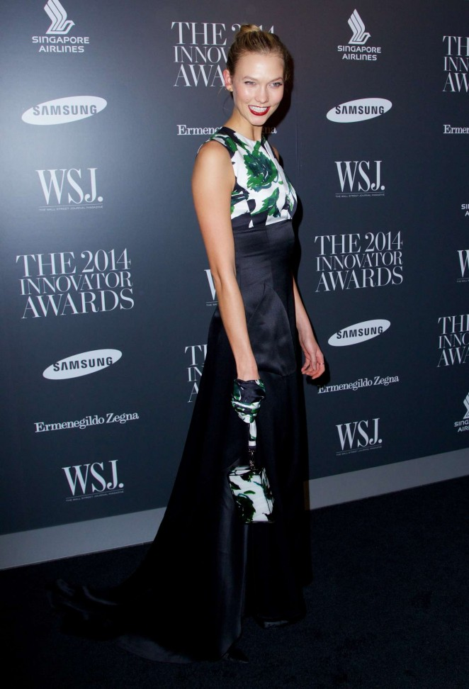 Karlie Kloss – WSJ Magazine 2014 Innovator Awards -02