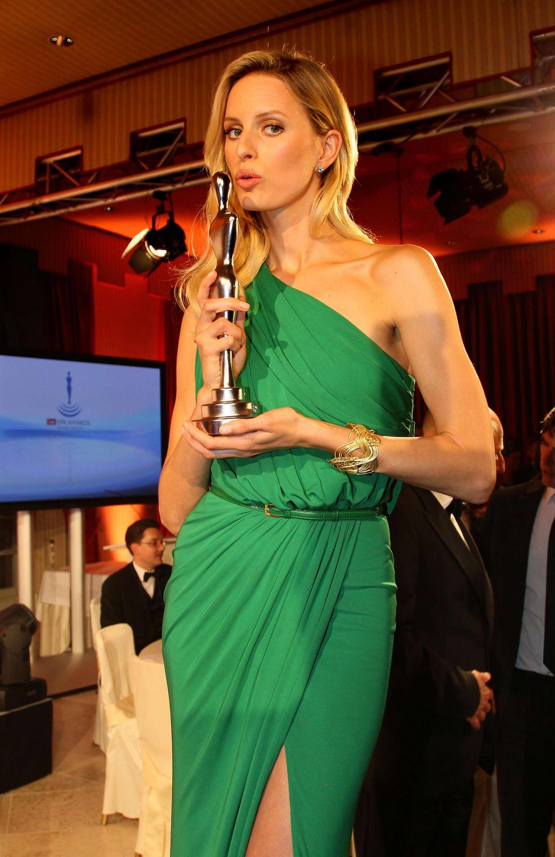 Back to FULL gallery Karolina Kurkova at 2012 Gala Spa Award in Baden ...