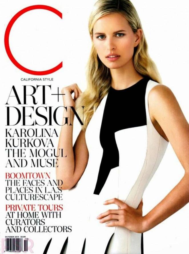 Karolina Kurkova - California Style Magazine (October 2014)