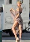 Karolina Kurkova - on the set of a photoshoot-05
