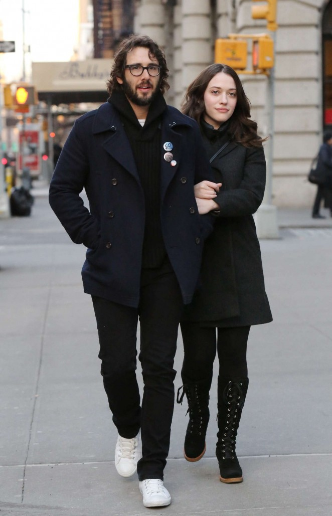 Kat Dennings out in New York City