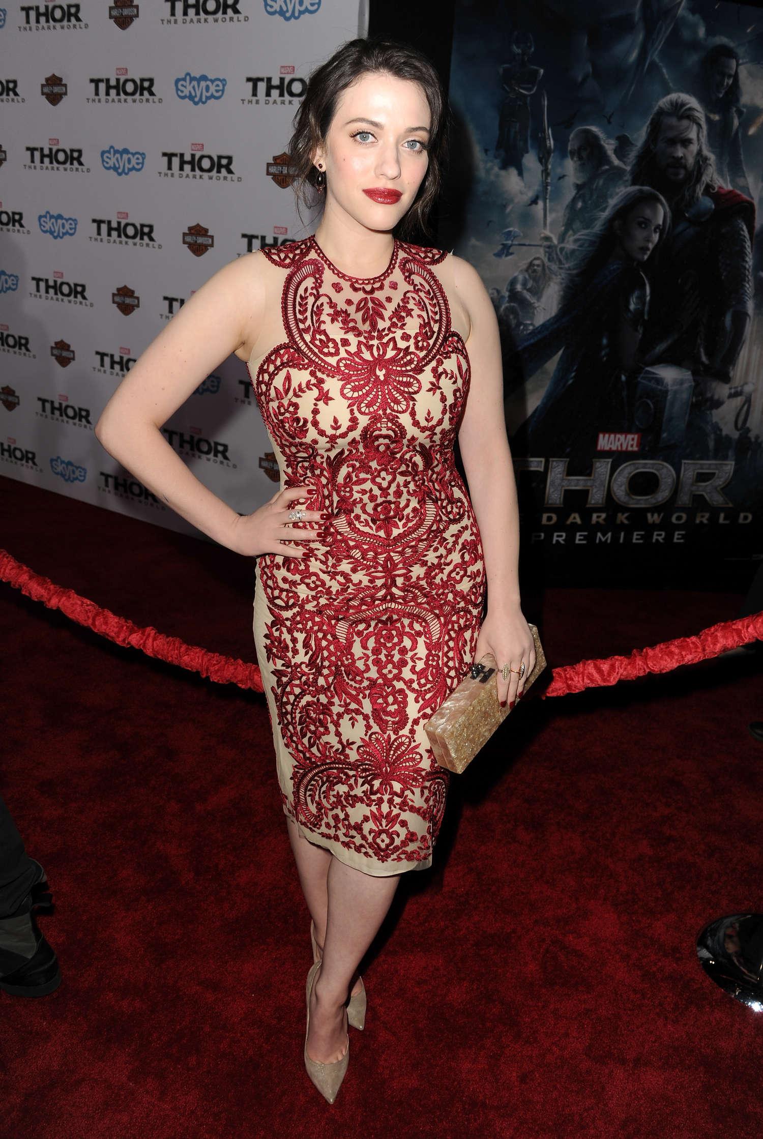 Kat Dennings - Thor: The Dark World Hollywood Premiere -24 ...
