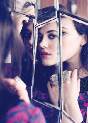 Kat Dennings: Zooey Magazine -09