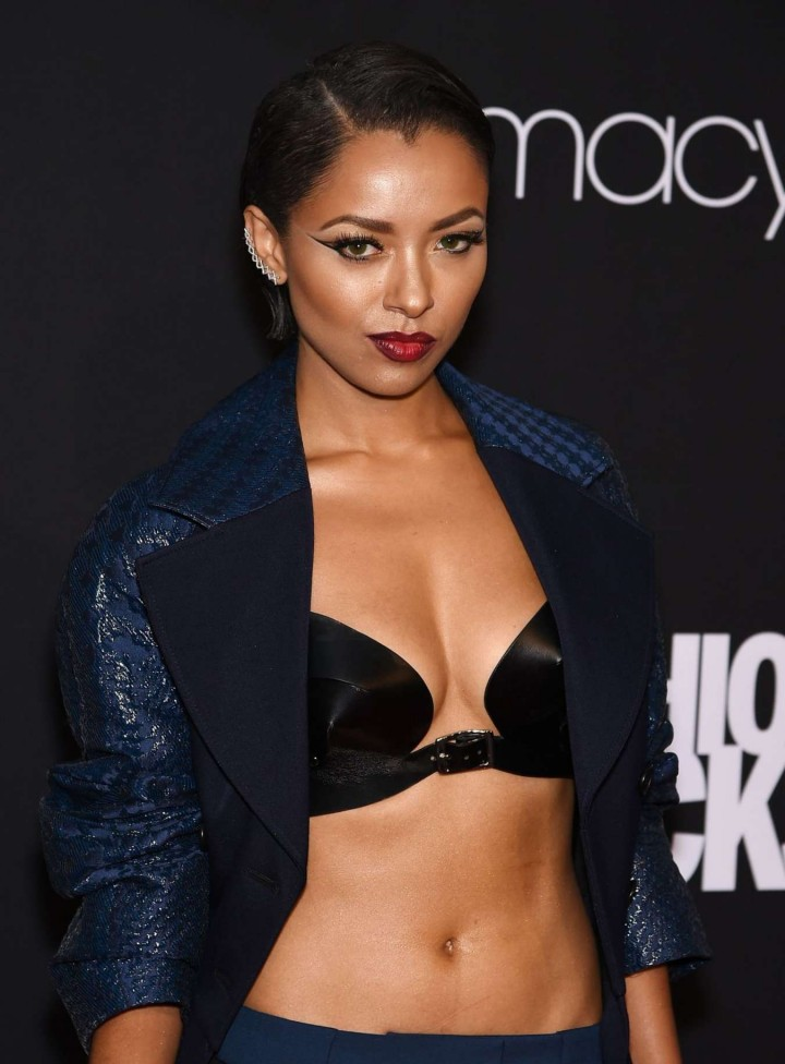 Kat Graham - Fashion Rocks 2014 at the Barclays Center in NY