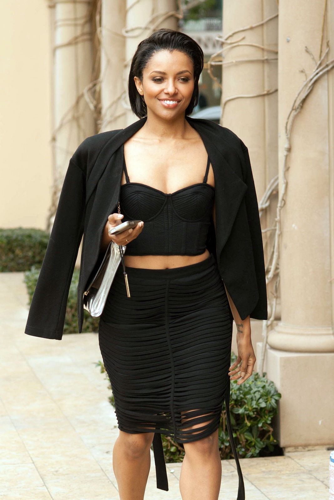 Kat Graham 2014 : Kat Graham – out and about in Beverly Hills -01
