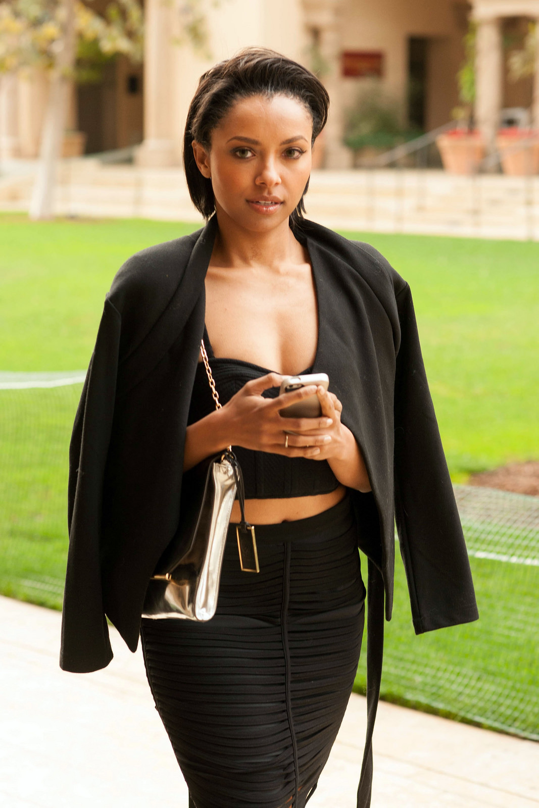 Kat Graham 2014 : Kat Graham – out and about in Beverly Hills -03