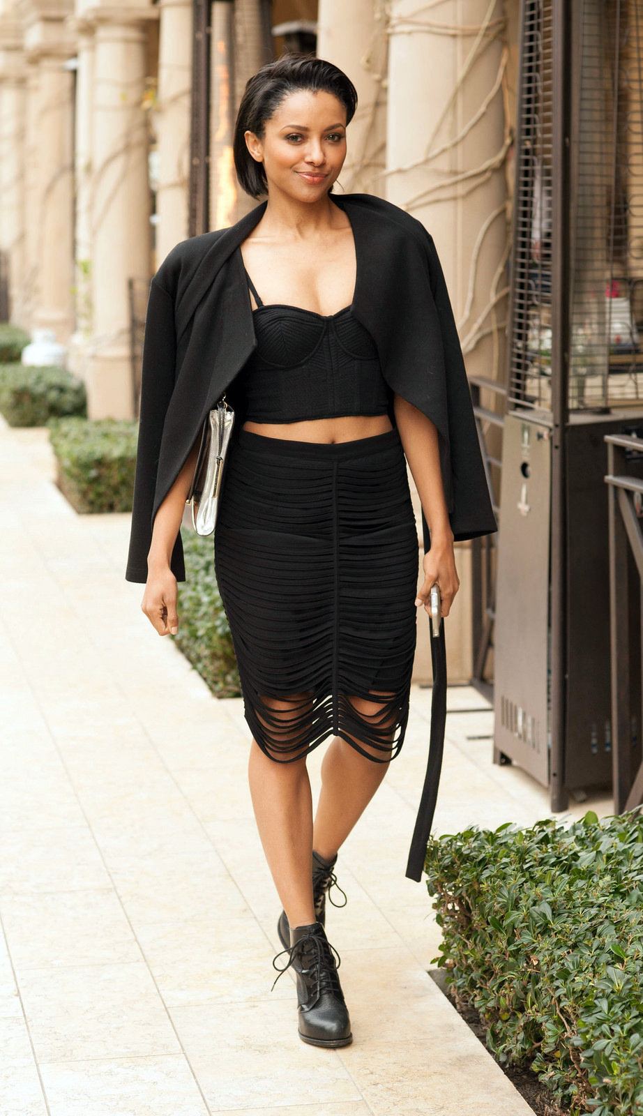 Kat Graham 2014 : Kat Graham – out and about in Beverly Hills -08