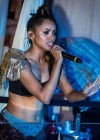 Kat Graham - performing in her bra-18