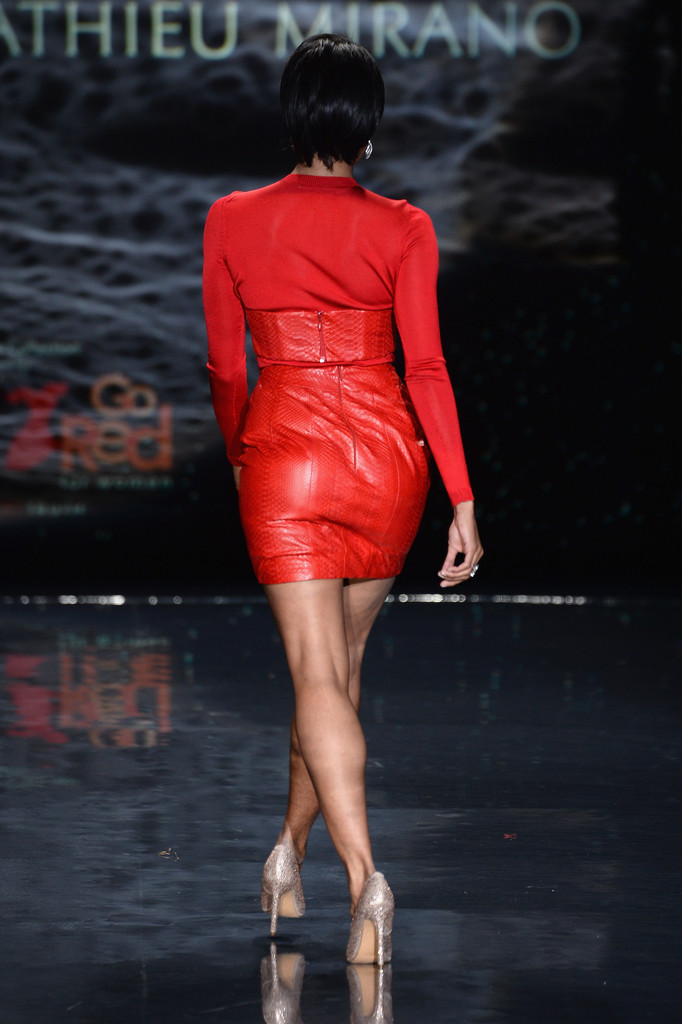 Kat Graham: 2014 Red Dress Fashion Show -06