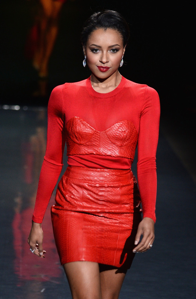 Kat Graham: 2014 Red Dress Fashion Show -07
