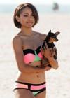 Kat Graham Bikini Photos: Santa Monica -10