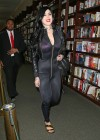 Kat Von D at Barnes and Noble book store in New York -10