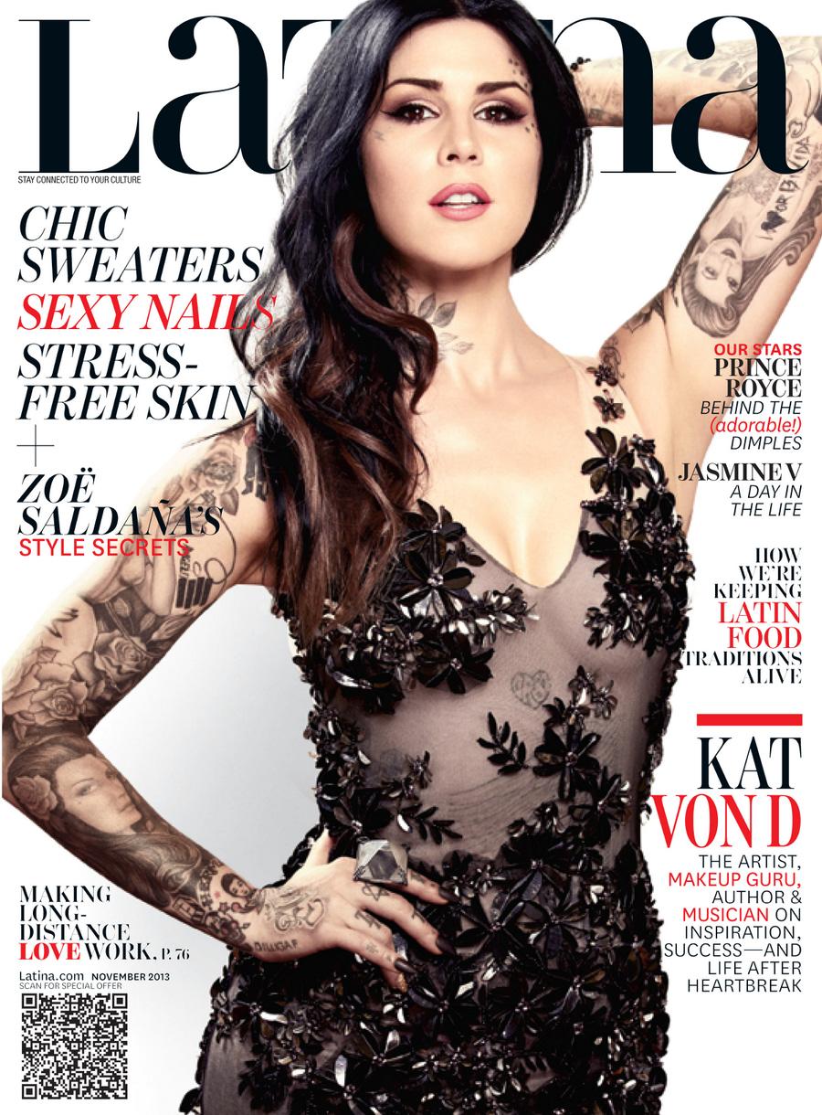 Kat Von D 2013 : Kat Von D: Latina Magazine -01