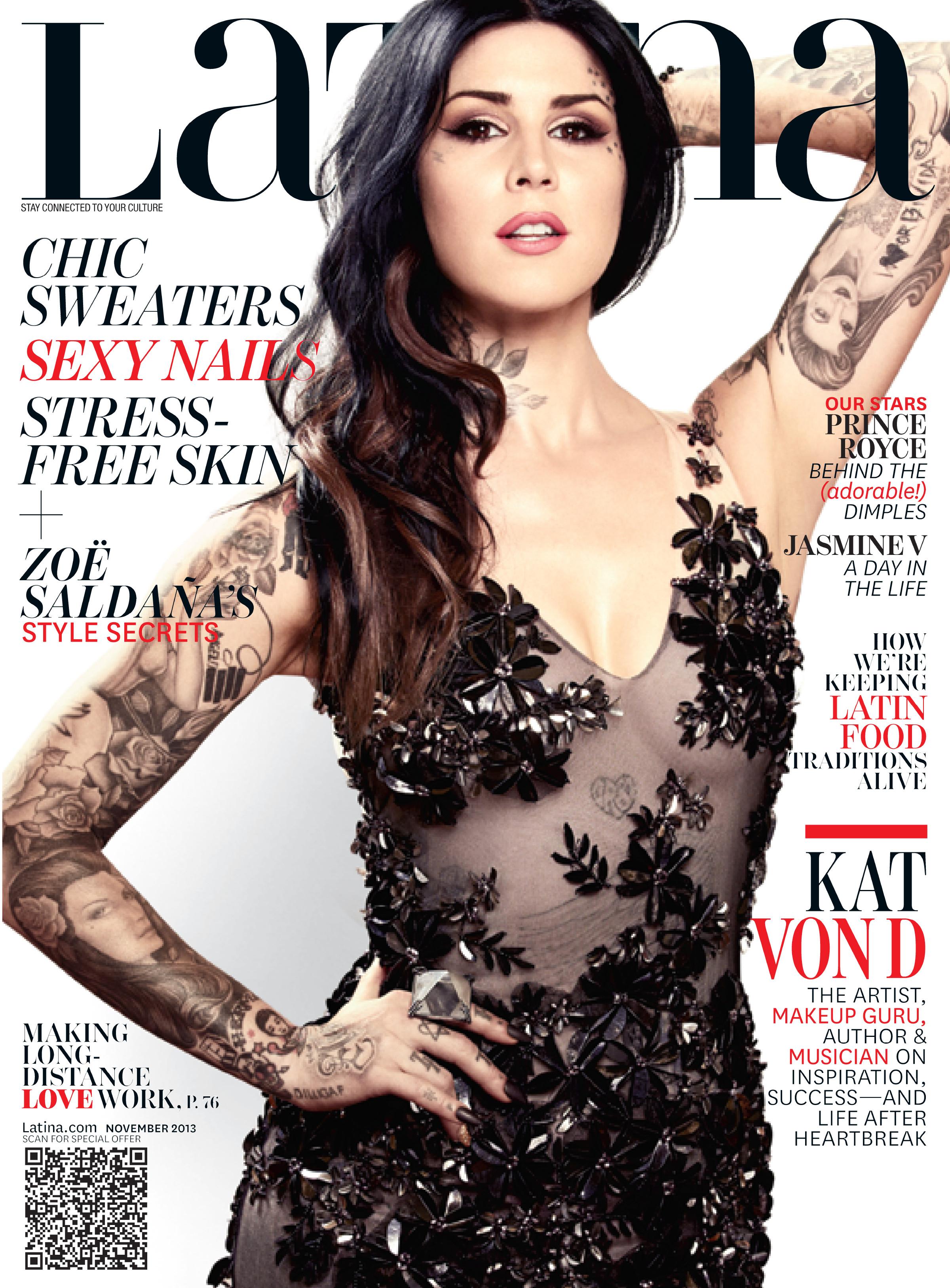 Kat Von D 2013 : Kat Von D: Latina Magazine -02