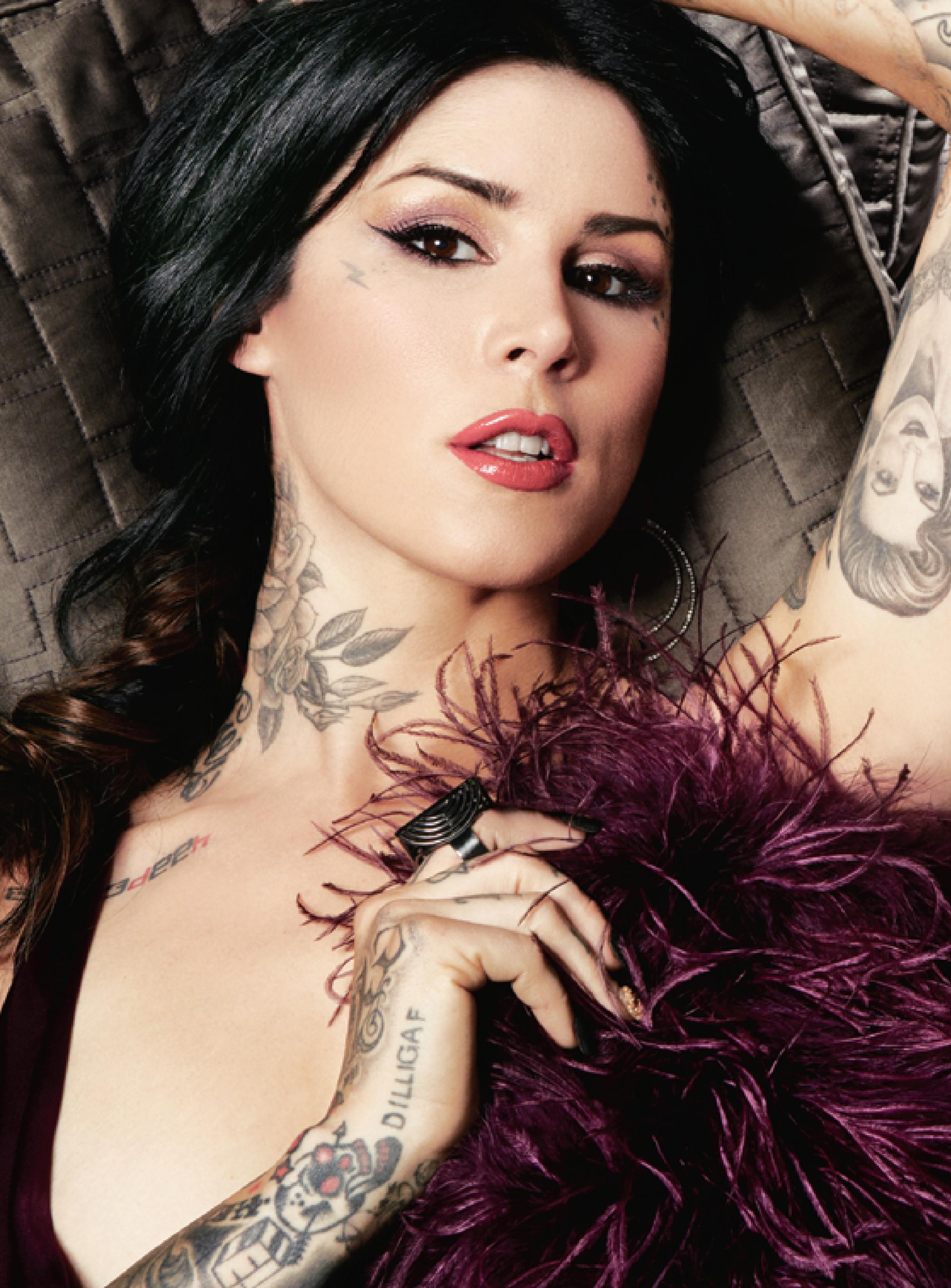 Kat Von D 2013 : Kat Von D: Latina Magazine -05