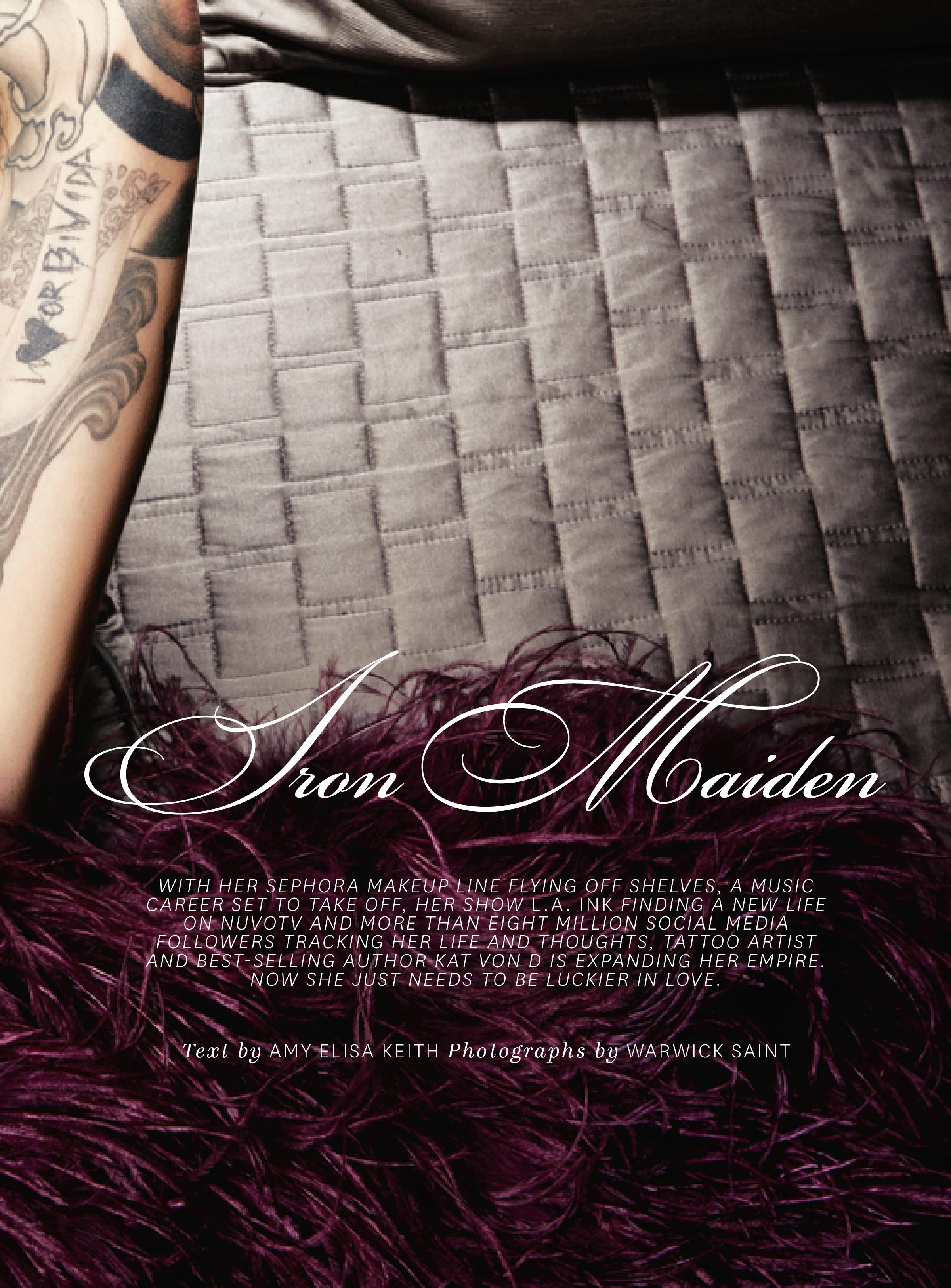 Kat Von D 2013 : Kat Von D: Latina Magazine -06
