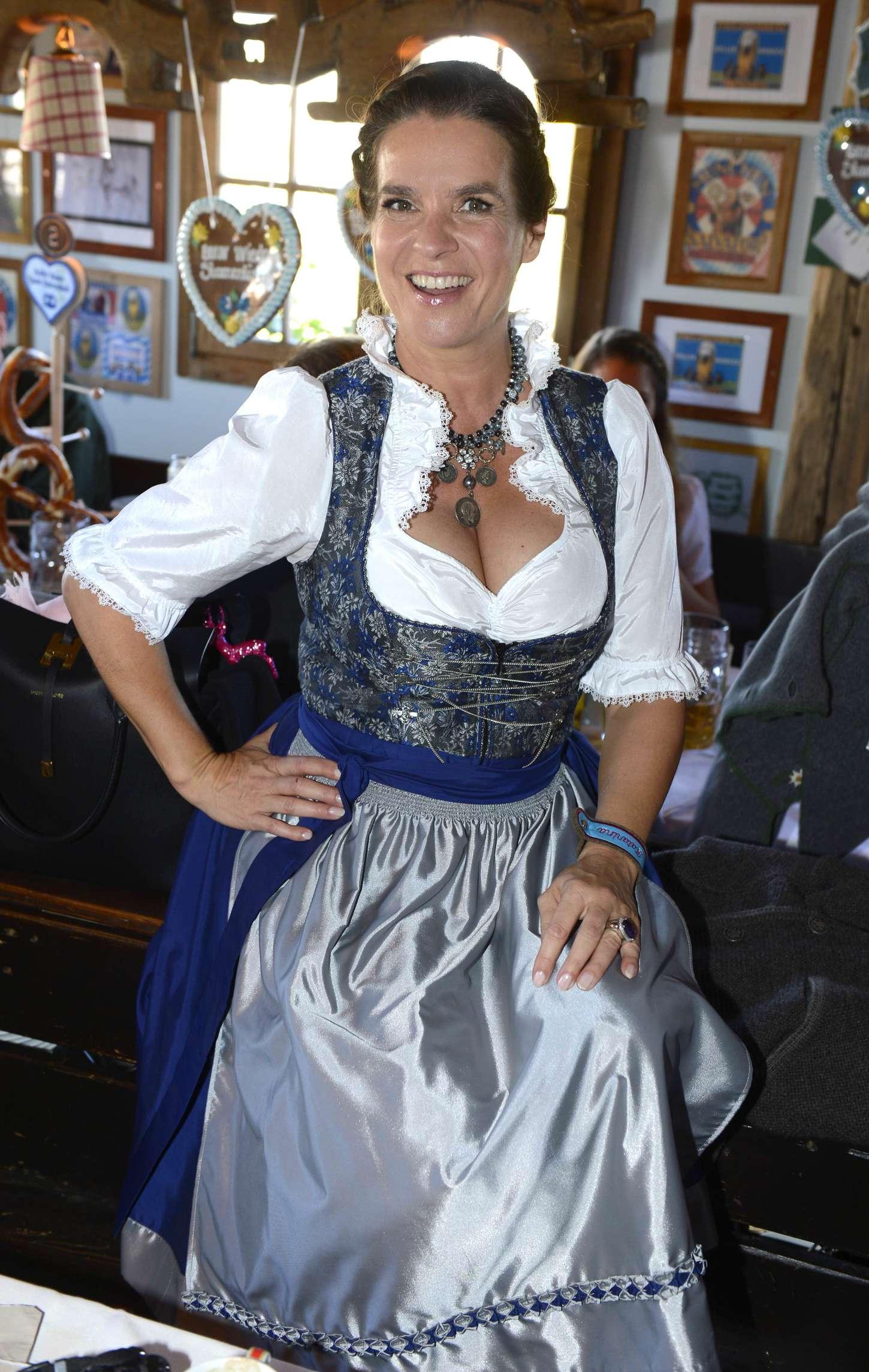 Katarina Witt at Oktoberfest in Munich -27 - GotCeleb
