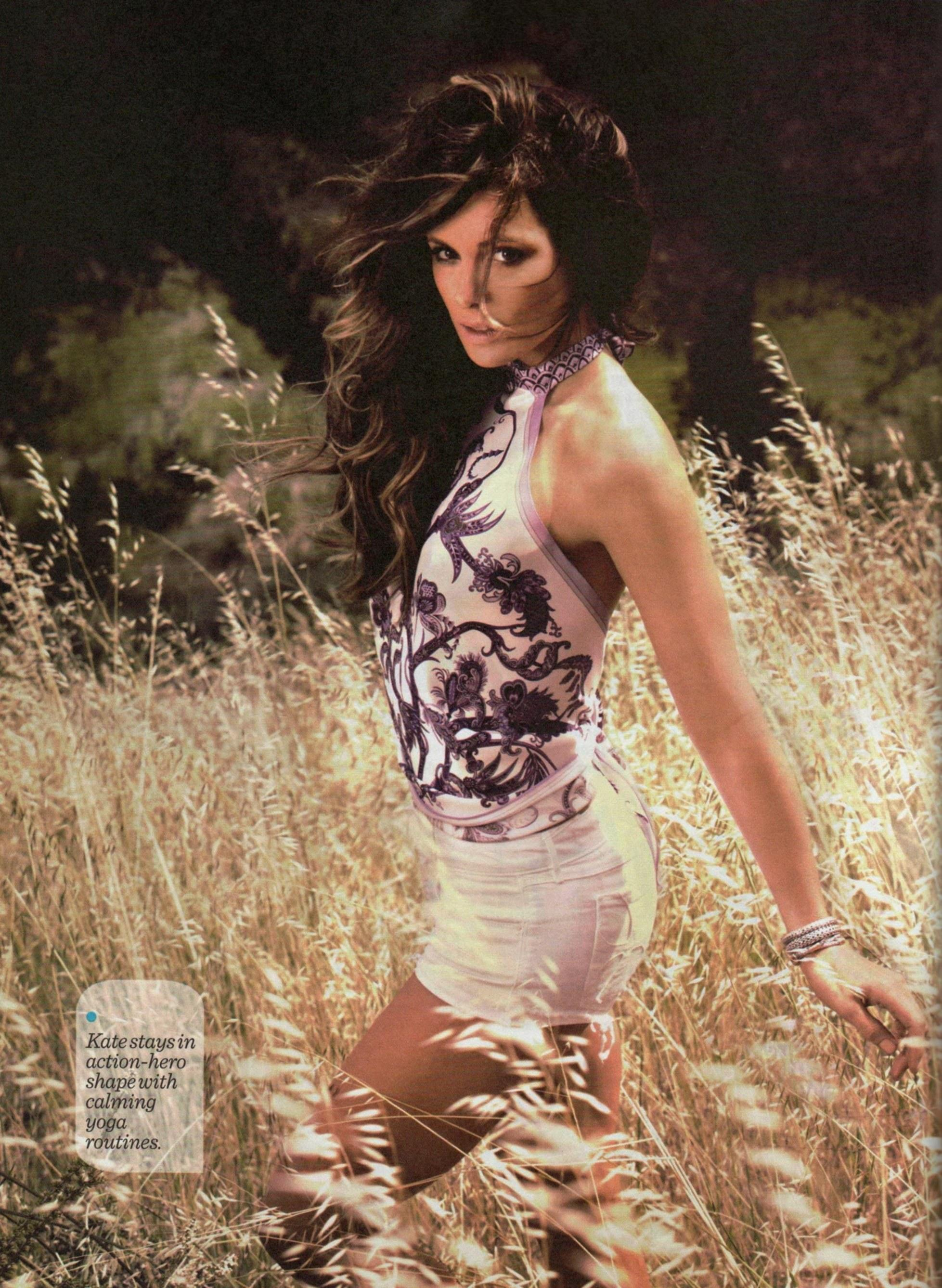 Kate Beckinsale 2014 : Kate Beckinsale and Maria Menounos: Womens Health Celebrity Fitness Secrets Book 2014 -01