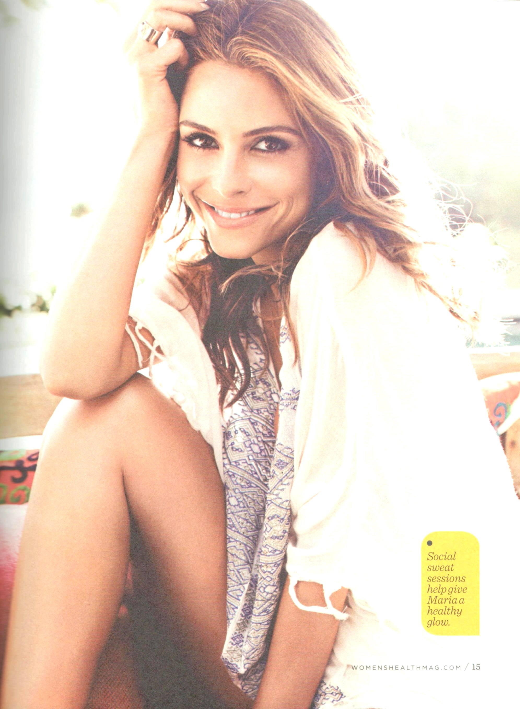 Kate Beckinsale 2014 : Kate Beckinsale and Maria Menounos: Womens Health Celebrity Fitness Secrets Book 2014 -05