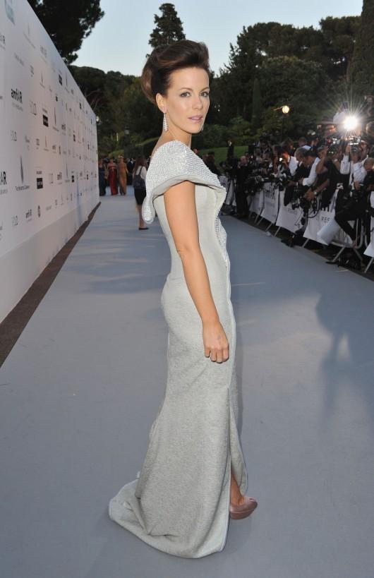 Kate Beckinsale at amfAR's Cinema Against AIDS 2010 benefit gala