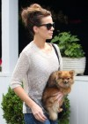 Kate Beckinsale in Jeans at Brentwood Country Mart -13
