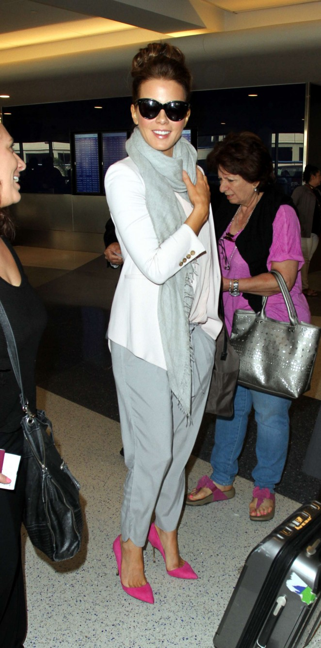Kate Beckinsale at LAX airport in LA