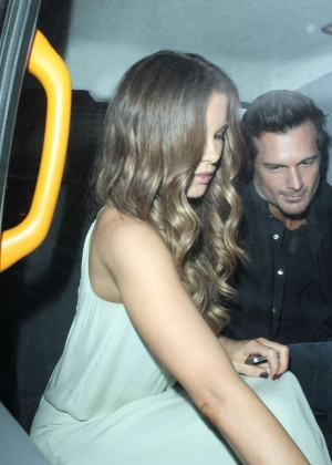 Kate Beckinsale at the Chiltern Firehouse in London