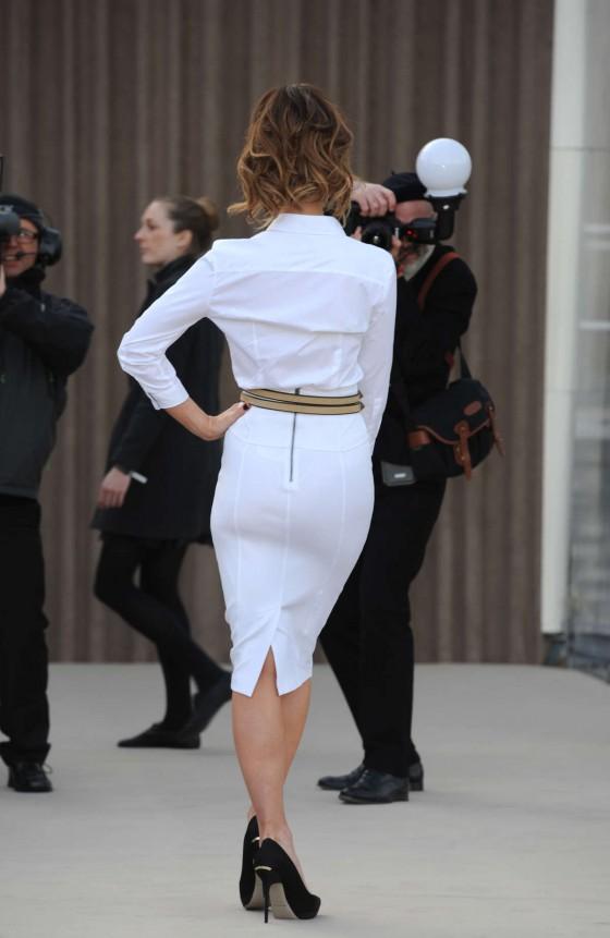 Kate Beckinsale In White Tight Skirt -11 - GotCeleb