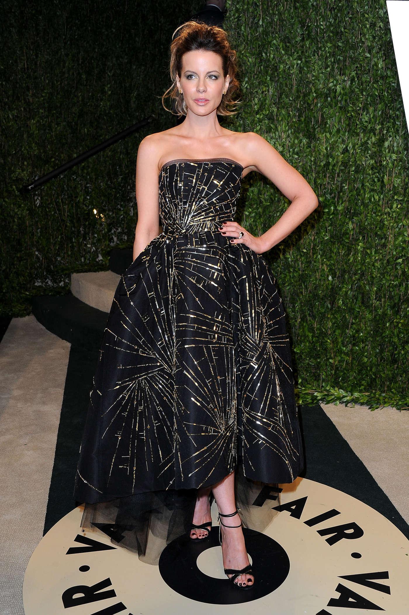 Kate Beckinsale 2013 : Kate Beckinsale – Oscar 2013 – Vanity Fair Party -01