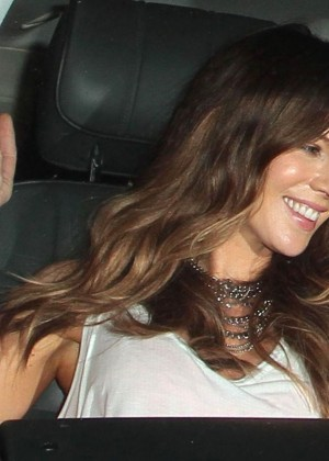 Kate Beckinsale Seen leaving Largo in West Hollywood