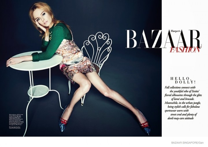 Kate Bosworth: Harpers Bazaar Singapore 2014 -03