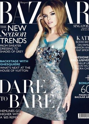 Kate Bosworth - Harper's Bazaar Singapore Magazine (August 2014)
