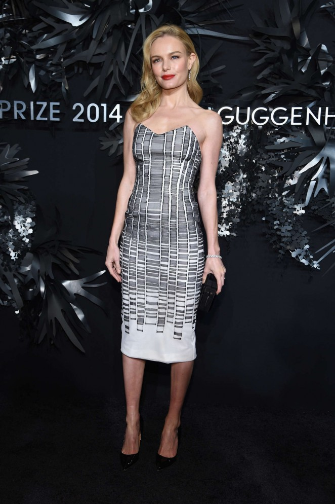 Kate Bosworth - Hugo Boss Prize 2014 in NY