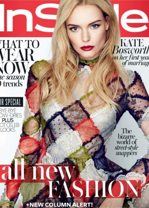 Kate Bosworth - InStyle UK Magazine (September 2014)