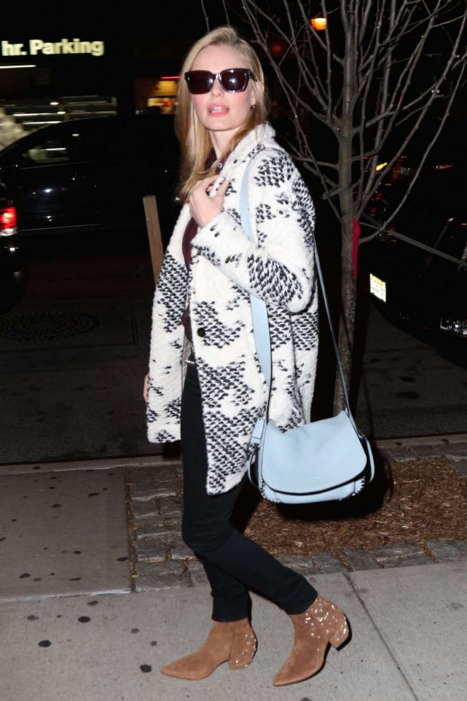 Kate Bosworth at The Carlyle Hotel in NYC