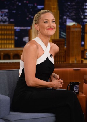 Kate Hudson at Late Night with Jimmy Fallon in New York