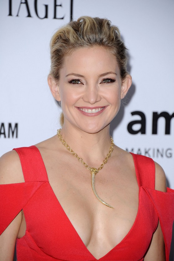 Kate Hudson at The amfAR Inspiration Gala 2012
