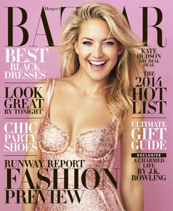 Kate Hudson: Harpers Bazaar Magazine -06