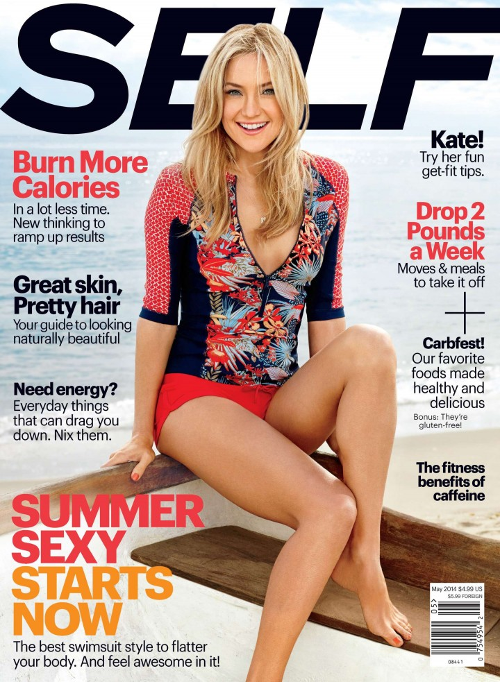 Kate Hudson: 2014 Self Magazine Cover-01