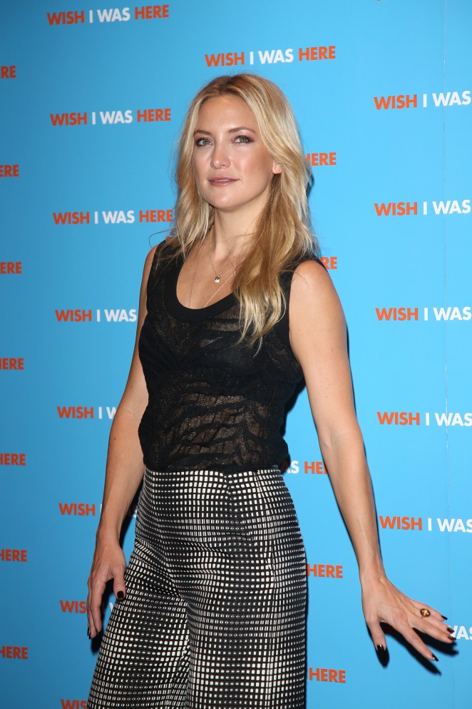 "Kate Hudson - ""Wish I Was Here"" Photocall in London"