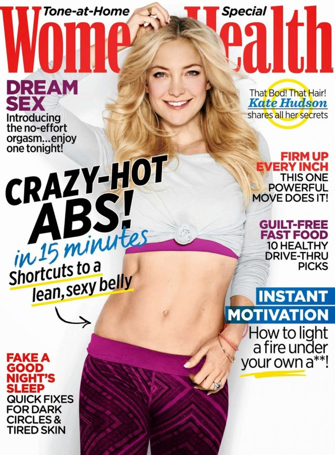 Kate Hudson - Women's Health US Magazine (October 2014)