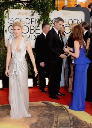 Kate Mara: Golden Globe 2014 Awards -04