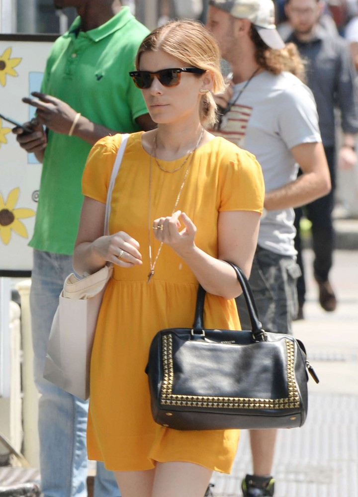 Kate Mara Seen out in NYC