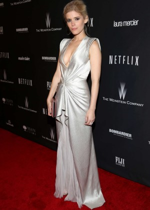 Kate Mara: 2014 The Weinstein Company and Netflix GG after party -02