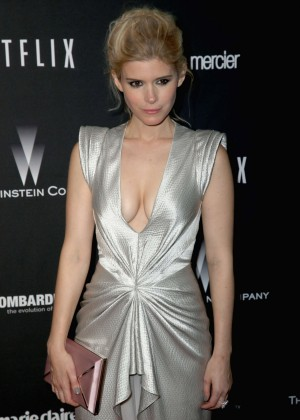 Kate Mara: 2014 The Weinstein Company and Netflix GG after party -04
