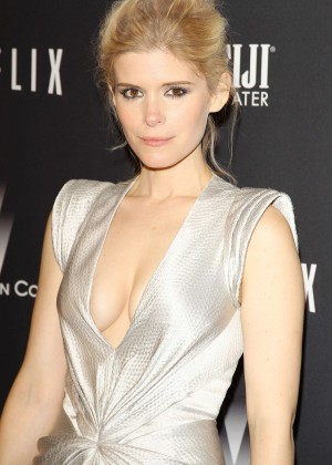 Kate Mara: 2014 The Weinstein Company and Netflix GG after party -07