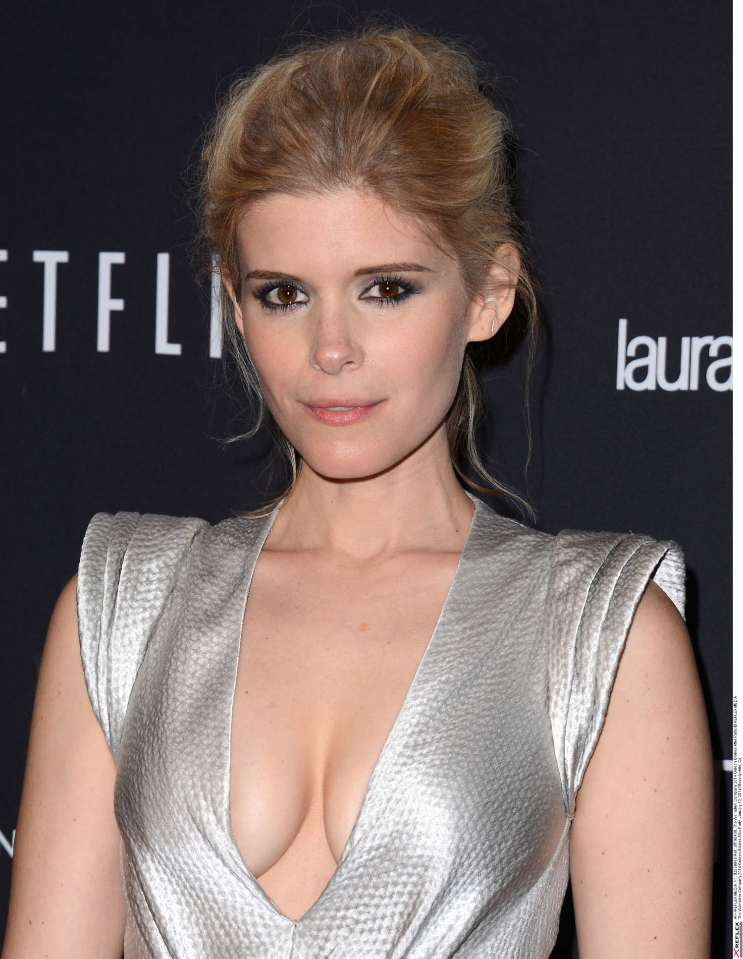 Kate Mara - The Weinstein Company & Netflix GG after party - GotCeleb