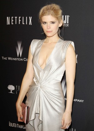 Kate Mara: 2014 The Weinstein Company and Netflix GG after party -09