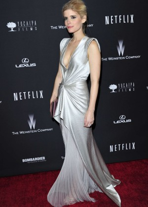 Kate Mara: 2014 The Weinstein Company and Netflix GG after party -10