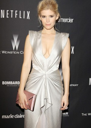 Kate Mara: 2014 The Weinstein Company and Netflix GG after party -17